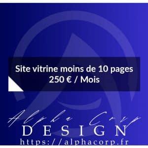 Site Vitrine