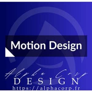 motion design animation logo