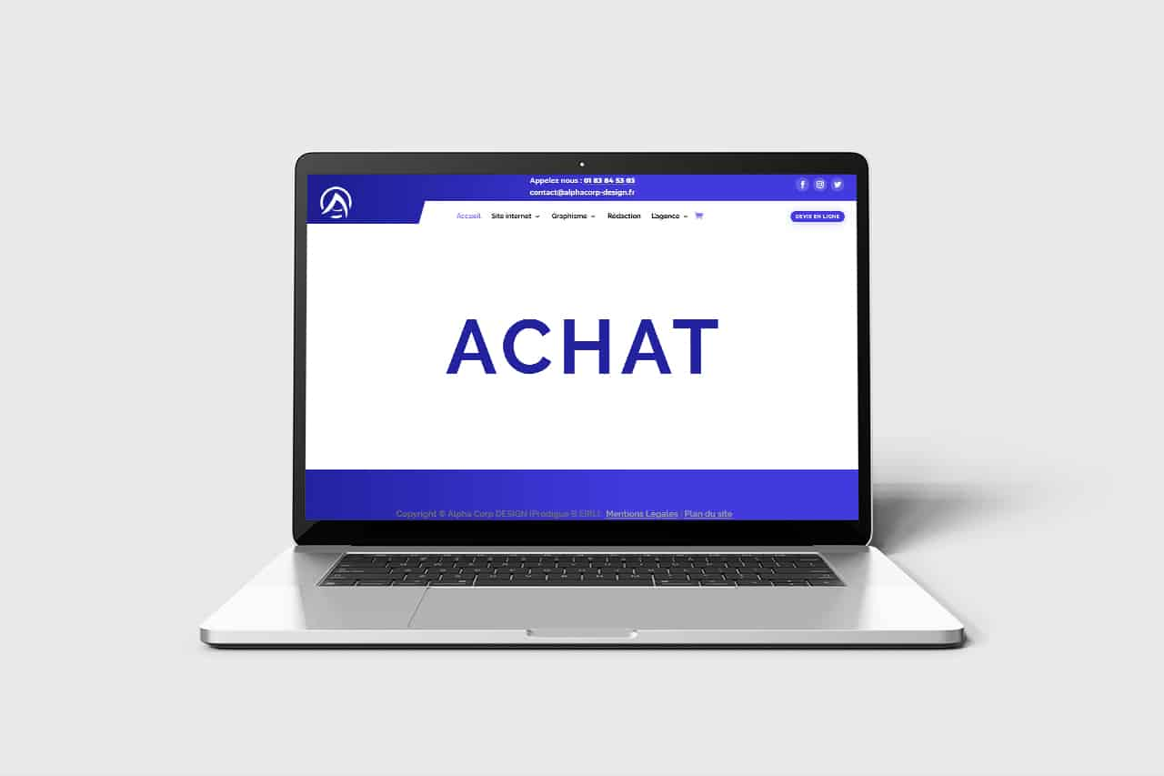 Achat site internet
