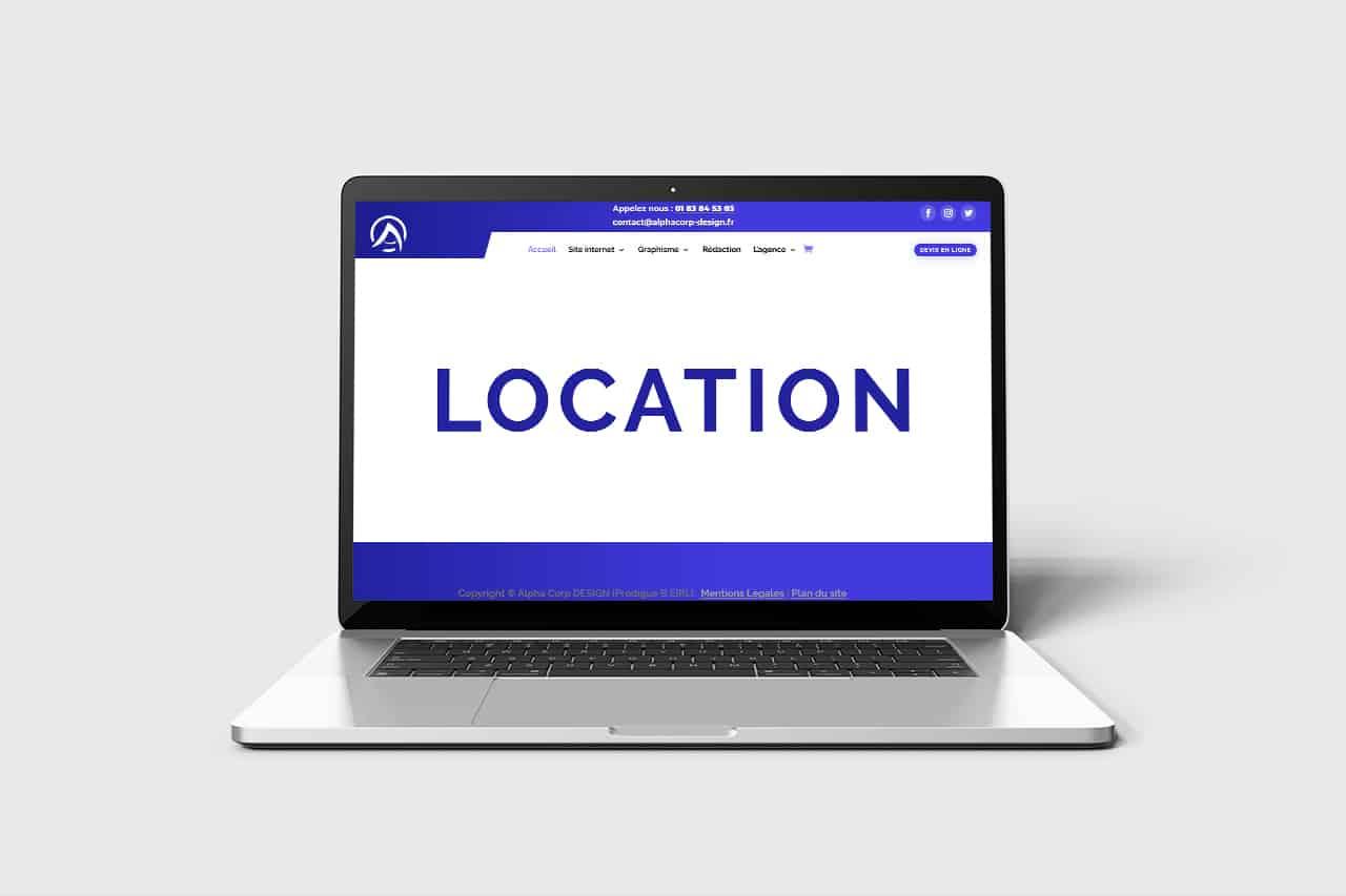 Location site internet